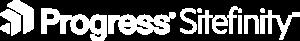 sitefinity logo white