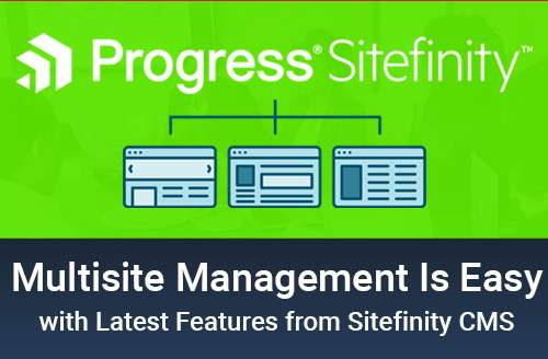 Sitefinity Multisite Management