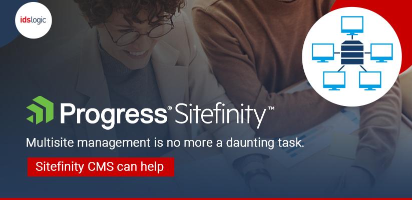 Sitefiniity Multisite Managementt