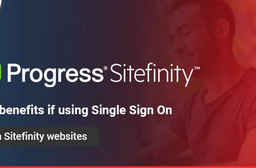The Benefits if Using Single Sign On with Sitefinity Websites