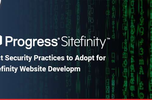 Best Security Practices to Adopt for Sitefinity Website Development