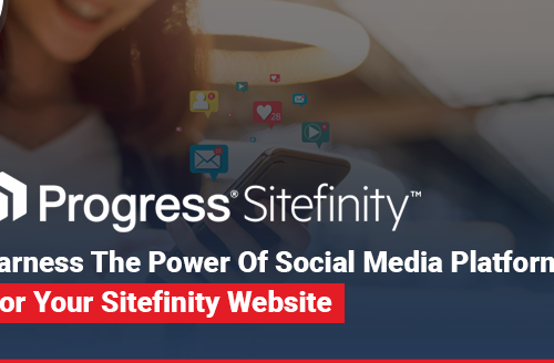 Harness the Power of Social Media Platforms for Your Sitefinity Website
