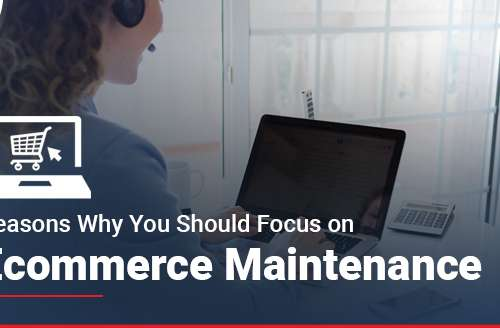Reasons Why You Should Focus on Ecommerce Maintenance